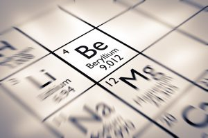 Beryllium in the Periodic Table